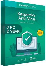 Kaspersky Antivirus 2020 - 3 PCs - 2 Years [EU]