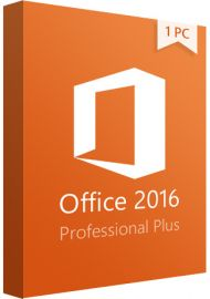 Microsoft Office 2016 Professional Plus - 1 PC