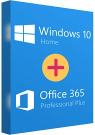 Microsoft Office 365 Professional Plus and Windows 10 Home Bundle