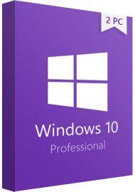 Win 10 Pro 32/64 Bit 2 PC