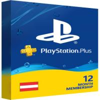 Playstation Plus PSN Cards - 365 Days AT